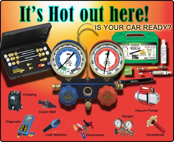 Air Conditioning Automotive Tools