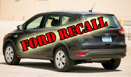 Ford Recall Escape and Fusion