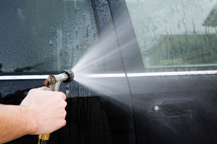 Looking for a water leak in your vehicle