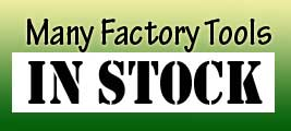 Many Automotive Specialty Tools are IN STOCK!